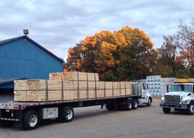 Truckload of Lumber