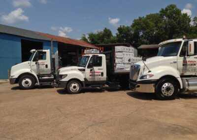 Various Delivery Trucks