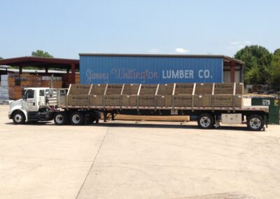 Full loaded Delivery Truck